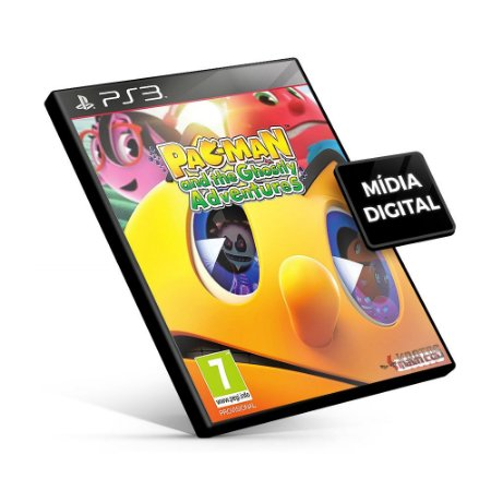 PAC-MAN and the Ghostly Adventures - PS3 Mídia Digital