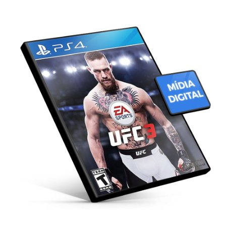 EA Sports UFC 3 - PS4 Mídia Digital