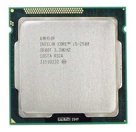 SN - PROCESSADOR 1155 INTEL  I5 2500 3.3GHZ - P
