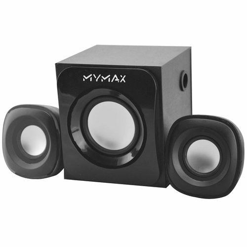CAIXA SOM SUBWOOFER 2.1 MYMAX