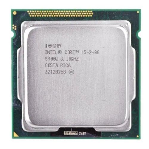 SN - PROCESSADOR 1155 INTEL  I5 2400 3.1GHZ - P