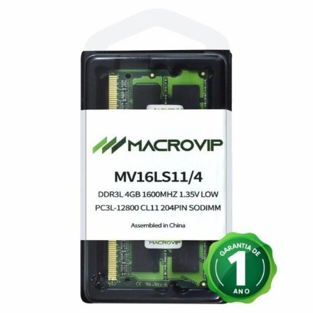 MEMORIA NOTE DDR3 4GB PC3L MACRO VIP