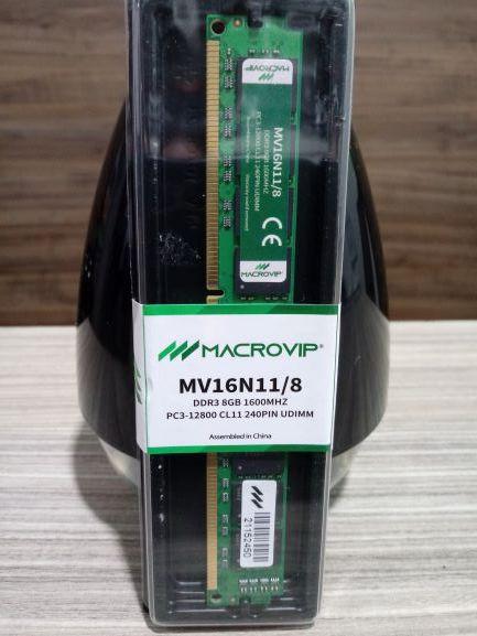 MEMÓRIA DDR3 8GB 1600MHZ MICROVIP MV16N11/8