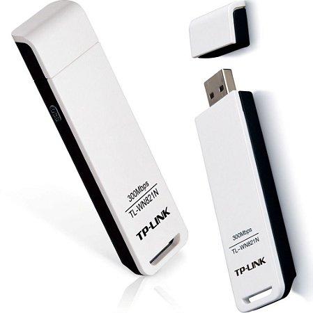 ADAPTADOR WIRELESS USB 300MBPS TL-WN821N TPLINK