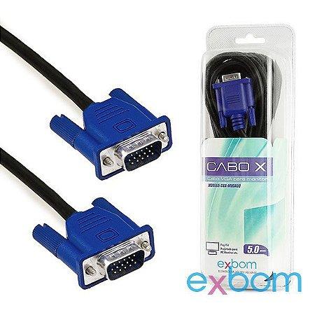 CABO VGA 5M EXBOM