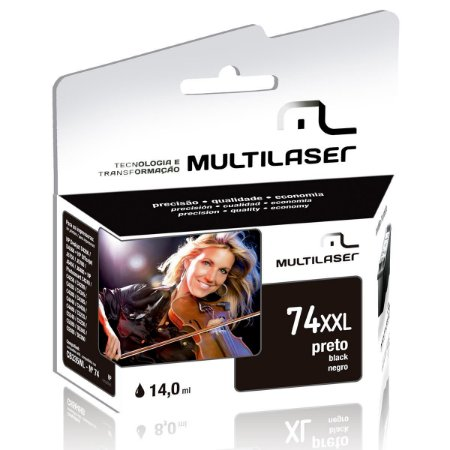 CARTUCHO COMPATIVEL 74XL BLACK MULTILASER - P