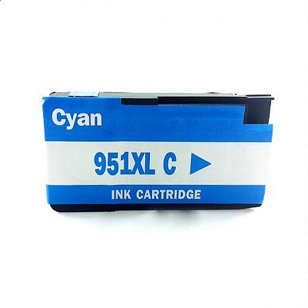 CARTUCHO REMANUFATURADO HP 951XL CYAN