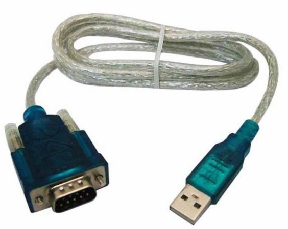 CABO CONVERSOR USB/SERIAL RS232  C/ ADAP