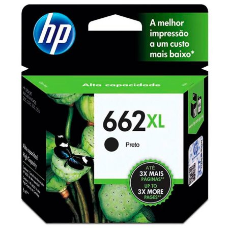CARTUCHO 662XL BLACK ORIGINAL HP