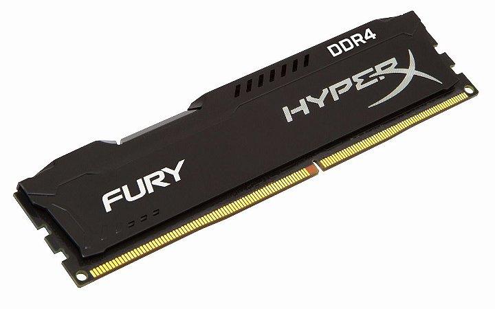 MEMORIA DDR4 8GB 2400MHZ HYPER X FURY KINGSTON