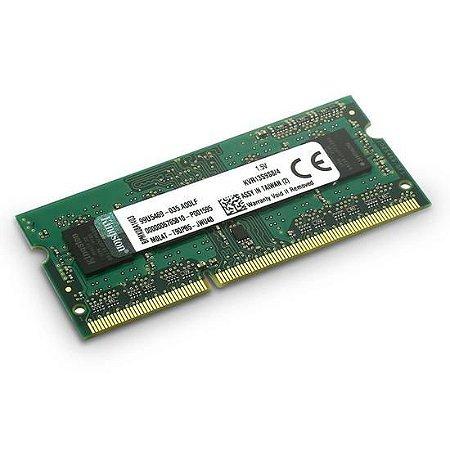 MEMORIA NOTE DDR3 4GB 1333 KINGSTON