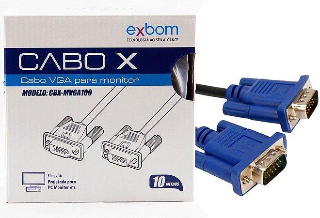 CABO VGA 10M EXBOM