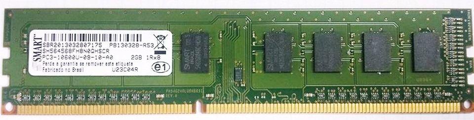 SN - MEMORIA NOTE DDR3 2GB 1333MHZ SMART