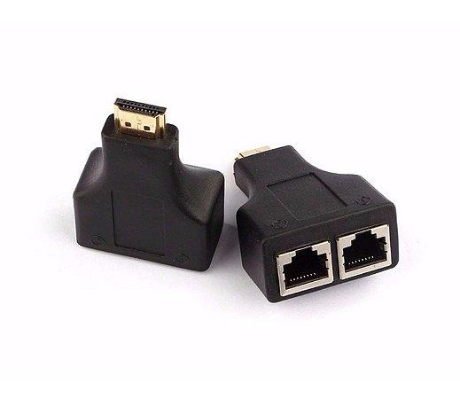 ADAPTADOR EXTENSOR HDMI X RJ45 - P