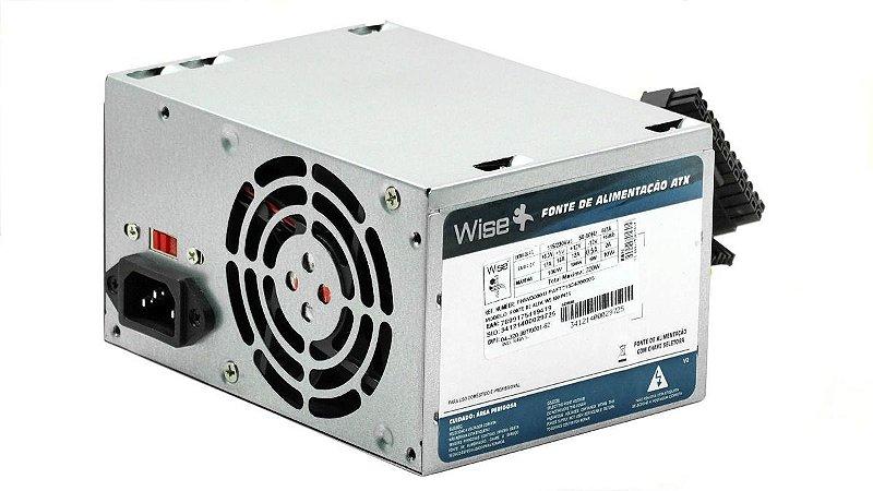 SN - FONTE ATX 500W WISE CASE