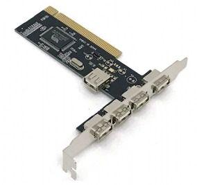 PLACA PCI USB 4P+1 2.0