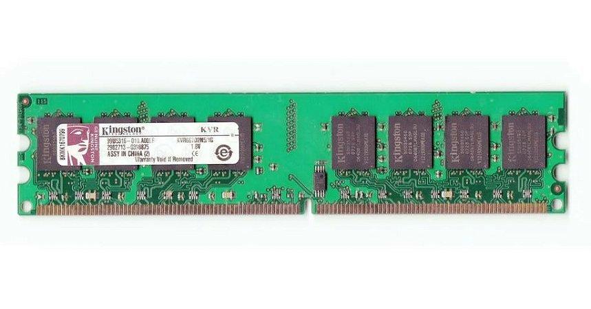 SN - MEMORIA DDR2 2GB 667MHZ GENERICA