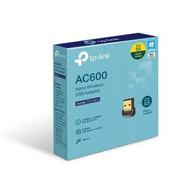 ADAPTADOR WIRELESS USB DB ARCHER T2U AC600 TP-LINK