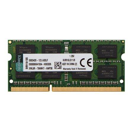 MEMORIA NOTE DDR3 4GB PC3L KINGSTON