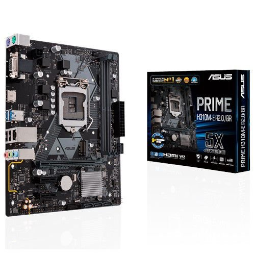 PLACA MAE 1151 ASUS H310M-E R2.0BR PRIME DDR4