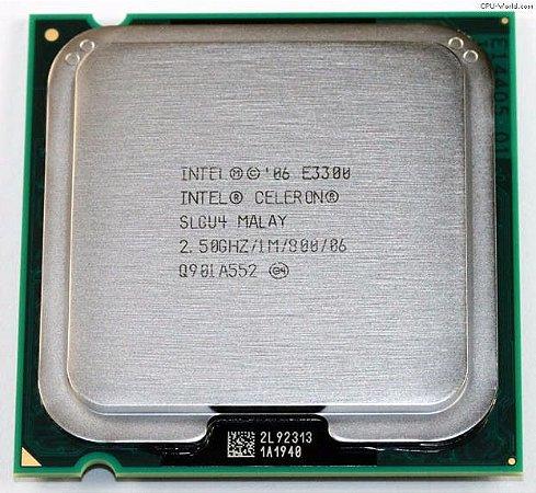 SN - PROCESSADOR 775 INTEL CELERON 2.5GHZ E3300