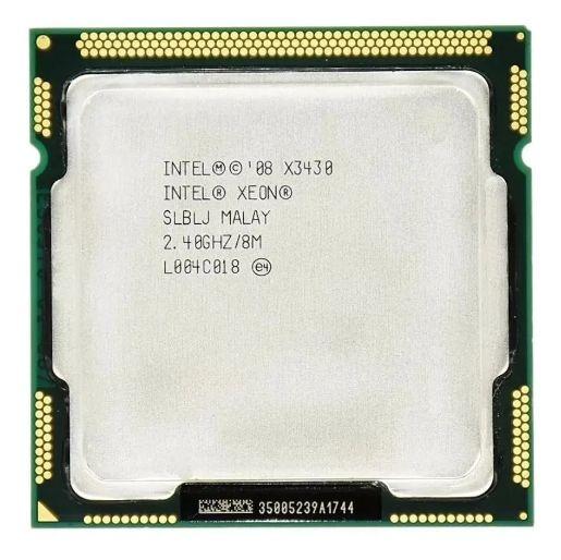 SN - PROCESSADOR 1156 INTEL XEON X3430 QUAD 2.4G