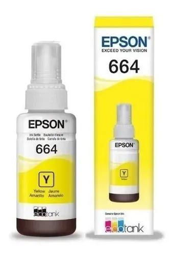 TINTA  EPSON 664 70ML YELLOW