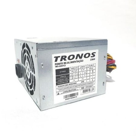 FONTE ATX 230W TRONOS S/CABO