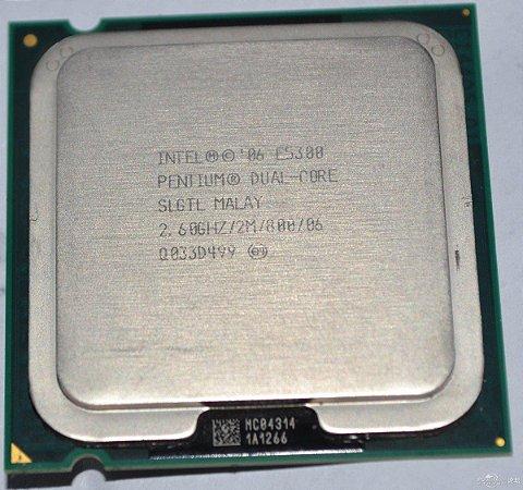 SN - PROCESSADOR 775 INTEL DC 2.6GHZ/2M/800 E5300