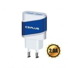 CARREGADOR AC/USB UNIVERSAL 2A UC-20SWH C3PLUS