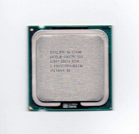 SN - PROCESSADOR 775 INTEL C2D 2.80 GHZ E7400 3MB