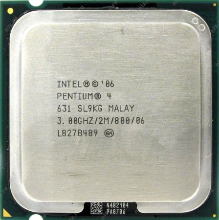 SN - PROCESSADOR 775 INTEL PENTIUM 04 631 3GHZ 2M