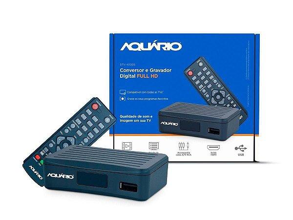 CONVERSOR DIGITAL AQUARIO DTV-4000S