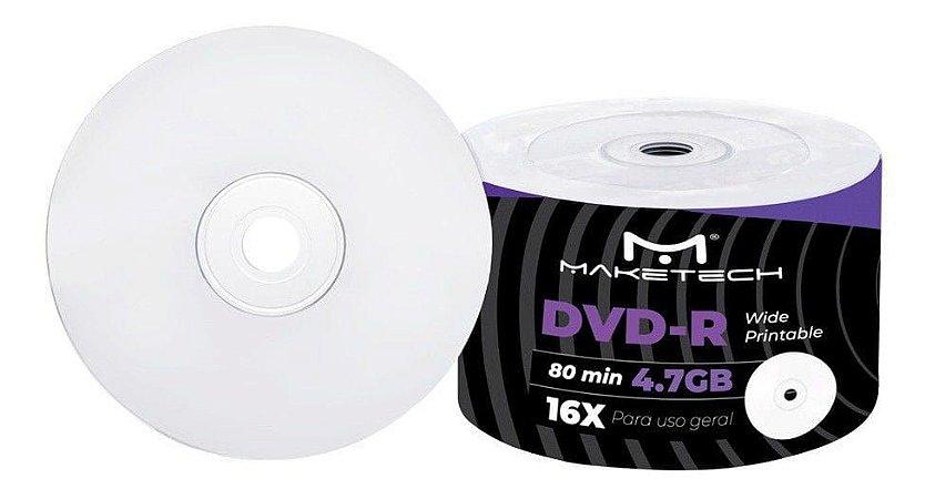 DVD-R PRINTABLE MAKETECH 4.7GB