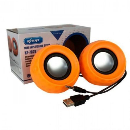 CAIXA SOM USB 6W KP-7029 KNUP