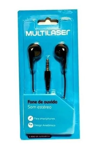 FONE DE OUVIDO BASICO MULTLASER PH312