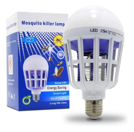 LAMPADA LED 15W MATA MOSQUITO - P