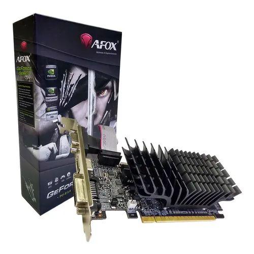 PLACA VIDEO DDR3 1GB 64 BITS GT 210 AFOX