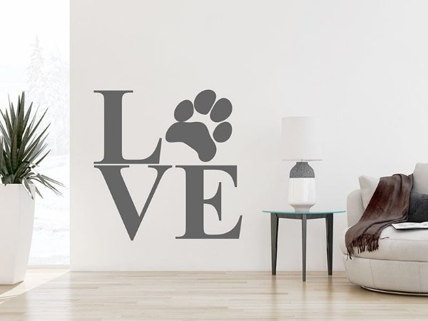 Adesivo de parede - Amor Animal