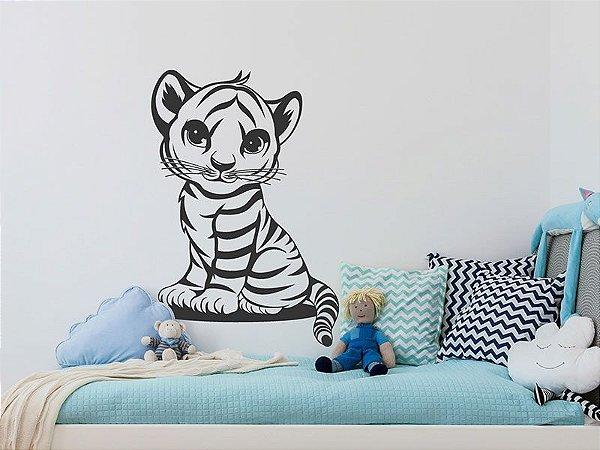 Adesivo de parede -  Tigre Infantil