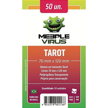 Sleeves Meeple Virus 70 x 120 MM (TAROT) - 50 Unidades