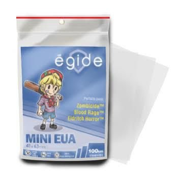 Sleeves Egide 41 x 63 MM - (Mini USA) - 100 Unidades