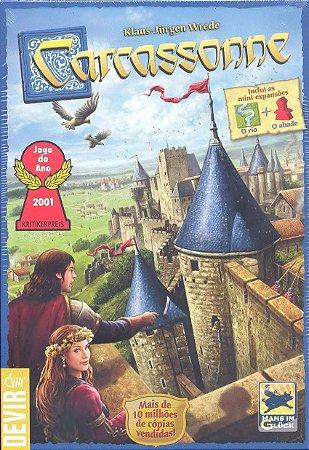 Carcassonne - 2ª Edição.