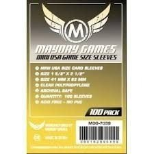 Sleeves MayDay Games 41 X 63 MM – (MINI USA) - 100 Unidades