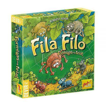 Fila Filo - Formigas na Teia - Spinderella