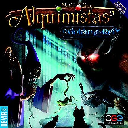 Alquimistas - O Golem do Rei (Expansão)