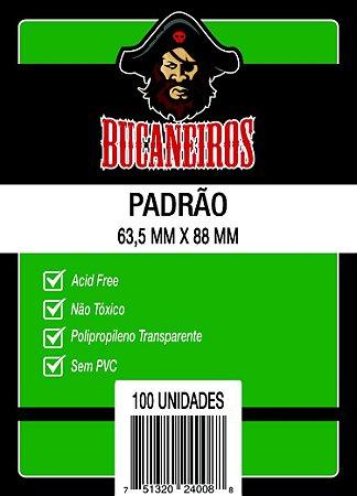 Sleeves Bucaneiros 63,5 x 88 MM (PADRÃO) - 100 Unidades
