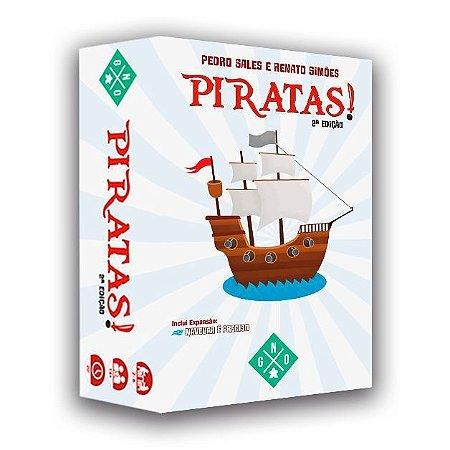 Pré-Venda - Piratas! - 2ª Edição