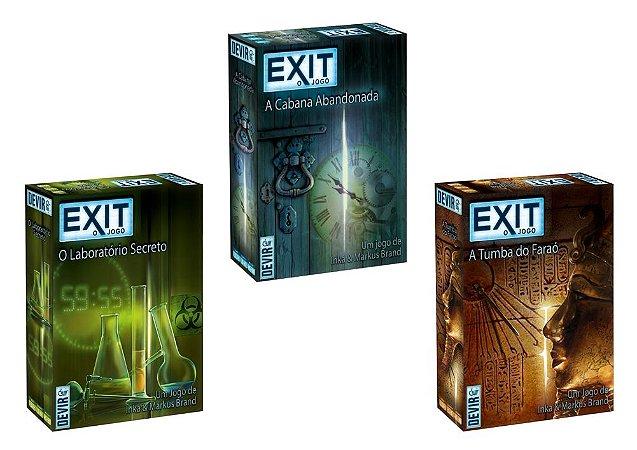 Pré-Venda - Combo Exit