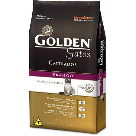 Golden Gatos Castrados Frango 3kg